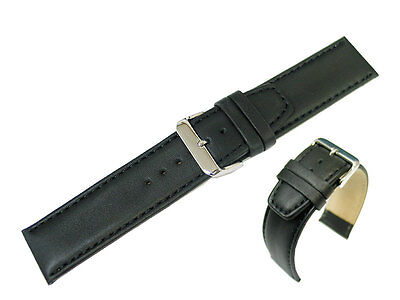 Genuine Leather Watch Strap / Band Replacement for Armani Exchange AX1055 (Watchband Armani Exchange)