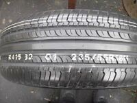 1 x 235 55 R18 HANKOOK OPTIMO TYRE, BRAND NEW, NEVER USED