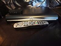 Sky + HD Box with on demand connector and remote