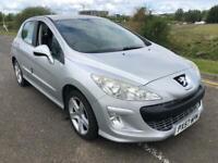 1 year mot Low miles 71009 Peugeot 308 petrol 1.6 sport 5 door
