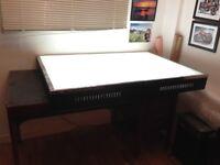 Light Table, very very big.