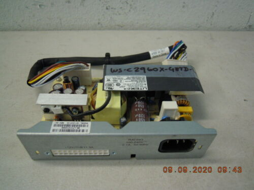 341-0537-02 REV: A0 Cisco Internal AC Power Supply for WS-C2960X-48TD-L Switch