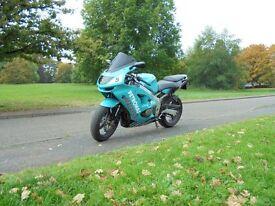 Kawasaki ZX6-R 1999 Custom Paint Low Miles
