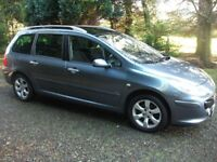 Excellent 2007 Peugeot 307 Diesel 7 Seater Estate Cheap Trade in Welcome