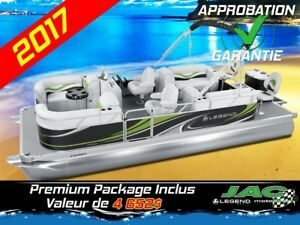 2017 Legend Boats Ponton Splash Plus FishTail Mercury 15 EL Bate