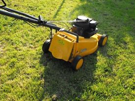 Lawnmower with grass box