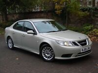 EXCELLENT DIESEL!!! 2008 SAAB 9-3 1.9 TiD AIRFLOW 4dr, HALF LEATHER, FSH, LONG MOT, WARRANTY