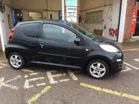 2014 Peugeot 107 allure £20 tax, full service history 39000miles