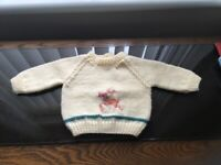 Baby Hand Knitting Christmas Design