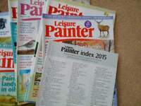 Leisure Painter journals FREE to collect