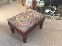 Beautiful Antique Footstool