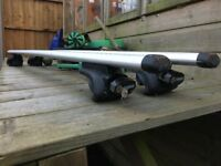 Thule E53 Roof Bars and Foot Pack (757) for BMW X5 (05) and similar