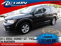 2012 Dodge Journey FWD SXT,V6,7 PASSAGERS,BLUETOOTH