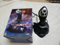 Computer gaming joystick - Starfighter - USB conectivity - still in box, used once maybe.