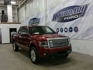 2014 Ford F-150 Platinum W/ Leather, Tailgate Step, Remote Start
