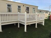 3 Bedroom Static Caravan Towyn Wales School Hol Not Rhyl Prestatyn Beach access