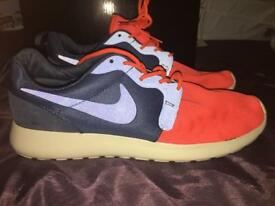 Brand new navy & orange Nike trainers
