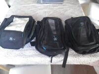 OXFORD 1 TANK BAG AND 2 SEPERATE SIDE BAGS
