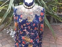 Bundle of New vintage blouses, all sizes, suitable for shop or market stall