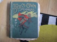 Boys own paper annual 1909 £ 5
