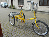 Pashley adult tricycle, trike.