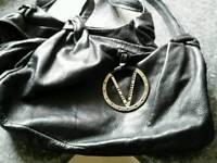 Black bag vintage valentino lether!