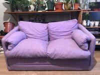 Lilac Purple Kids Sofa Bed - in very good condition