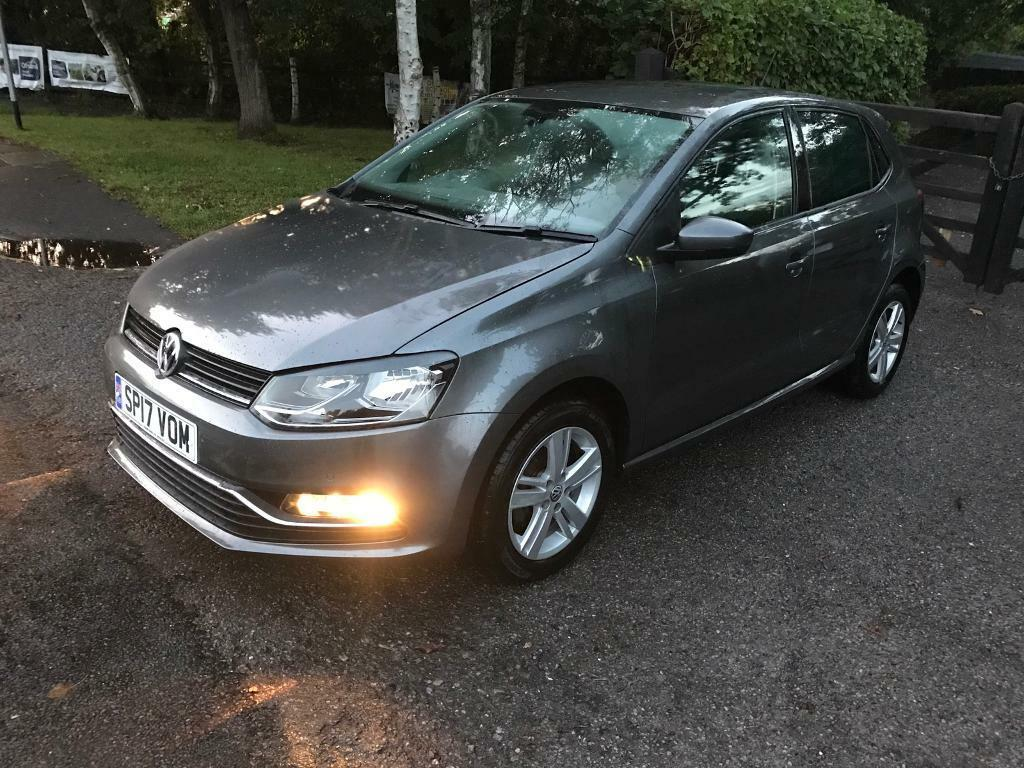 2017 vw polo 1 2 tsi bluemotion tech match edition hatchback dsg new mot low mileage 1000 cat d. Black Bedroom Furniture Sets. Home Design Ideas