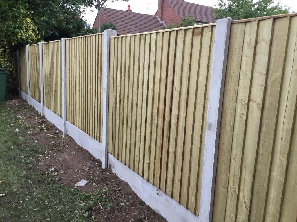 heavy duty feather edge fencing panels tanalised close. Black Bedroom Furniture Sets. Home Design Ideas