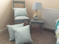 Shabby Chic chair and side table