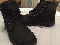 Black Timberland boots woman