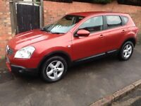 NISSAN QASHQAI DCi 4WD, 2008 REG, FULL MOT, FULL HISTORY, HPi CLEAR, NICE SPEC WITH PARKING SENSORS