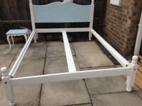 Double Bed & Matching Side Table