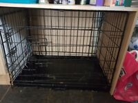 Medium Dog Cage for sale. In excellent condition