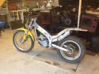 Beta 250cc trials bike