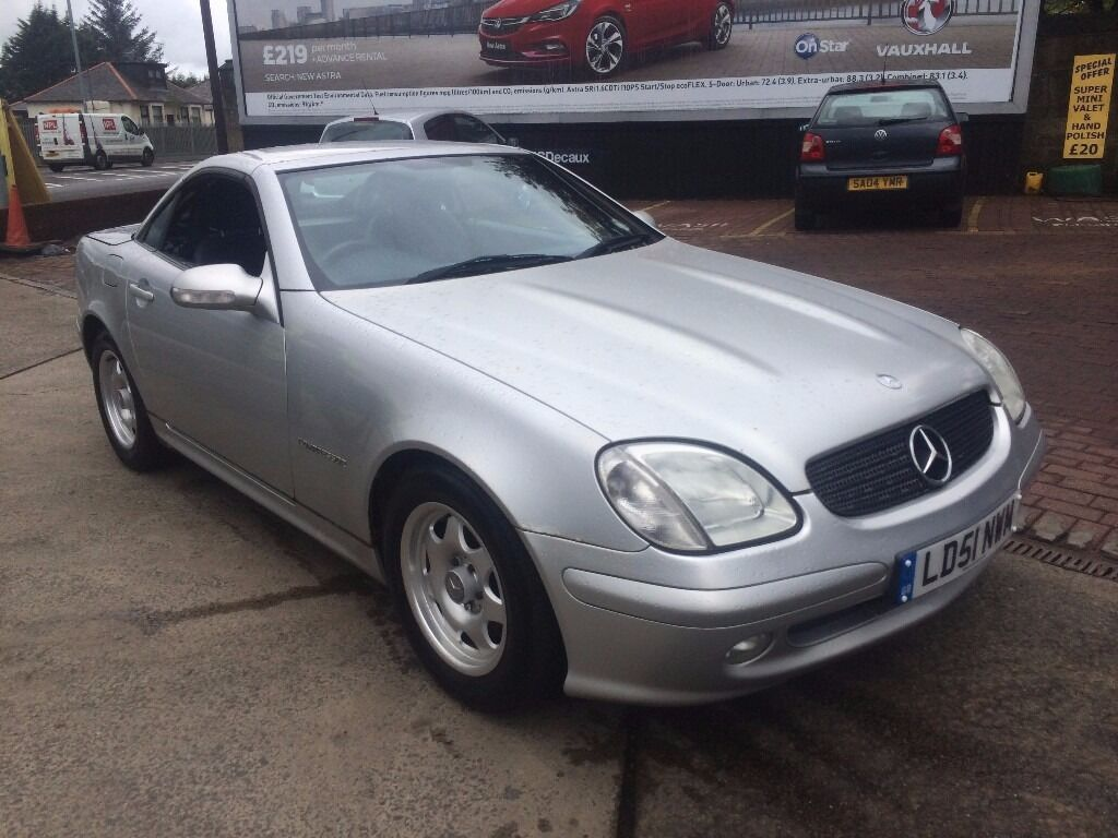2001 mercedes slk 200 kompressor convertible in southside glasgow gumtree. Black Bedroom Furniture Sets. Home Design Ideas