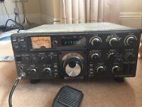 Kenwood / Trio TS-530 SP Ham Radio untested, included is Trio Tuner, Trio TR9130 accessories
