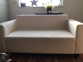 TWO SEATER SOFA. EXCELLENT CONDITION. 45£