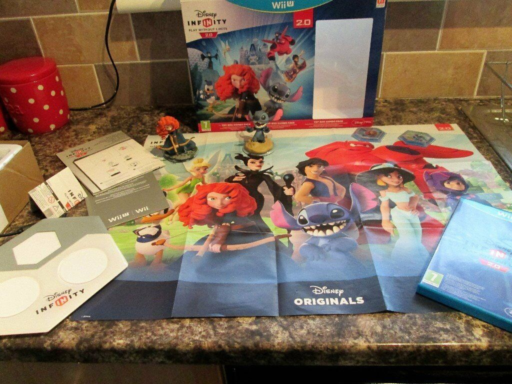 Nintendo Wii U Game - DISNEY INFINITY 2.0 Starter Pack Set