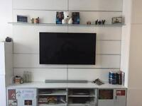 Modular TV storage unit