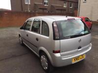 Vauxhall meriva 1.4 twinsport life 10reg fsh only 47k