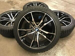 20 BMW X5 Wheels and Winter Tire Package /(BMW X5 or X6) Calgary Alberta Preview