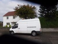 large van and driver from £15 local and long distance