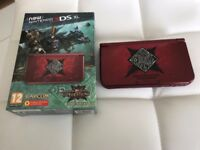 Nintendo Monster Hunter Generations 3DS XL Limited Edition Console + 2 Games