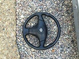 Toyota celica steering wheel and air bag