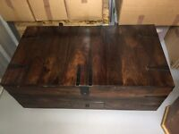 Large Wooden Chest / Trunk