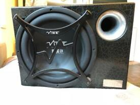 Vibe speakers and subwoofer