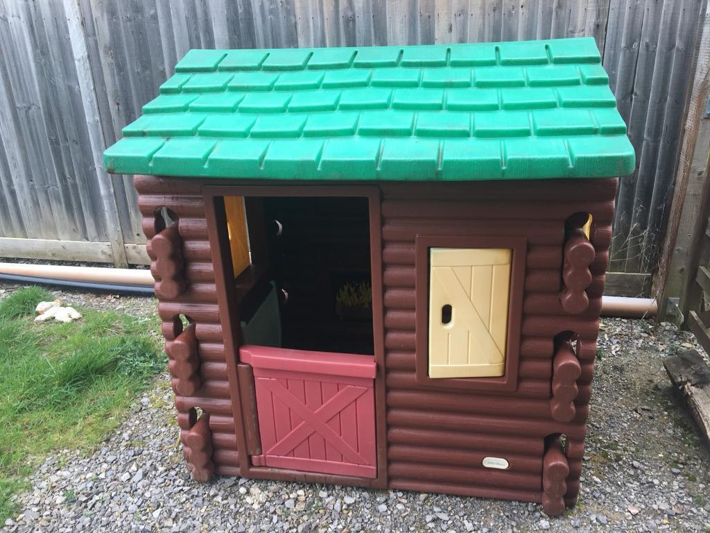 Little Tikes Log Cabin Playhouse Used In Southampton