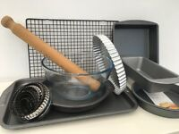 Fantastic Package of Baking Tins