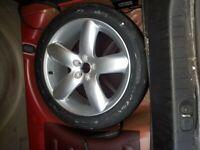 1x 18' Peugeot 407 Coupe 5x108 alloy wheel with Pirelli P Zero tyre brand new 235 45 R18